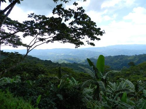paesaggio honduras