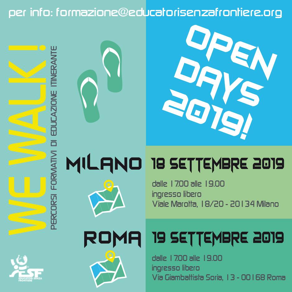 open days 2019 ESF