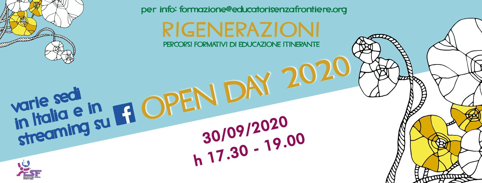 ESF Open Day 2020